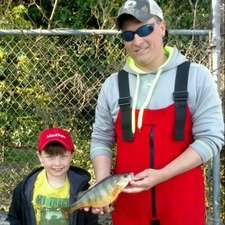 New MS state record perch caught on Hot Grub