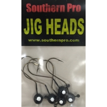1/32oz. Weedless JigHead - Black (5 Pk)