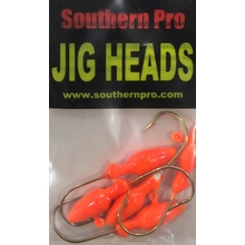 1/8oz. Torpedo JigHead - Orange (5 Pk)