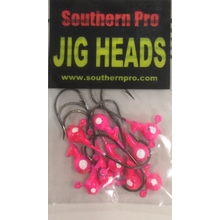 10 Pk. 1/32oz. Pink w/ Wht. Eyes #2 Hook