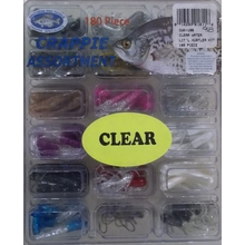 "180 pc. 1.5"" Clear Water Tube Kit"