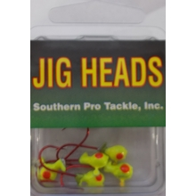 1/32oz. Jighead- Chart.- #4 Red Hook- 5pk