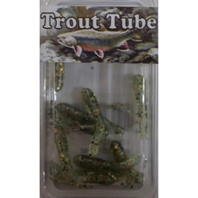 "1"" Trout Tube 10 pack - Goby"