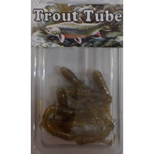 "1"" Trout Tube 10 pack - Grn.P'Kin Red Flk."